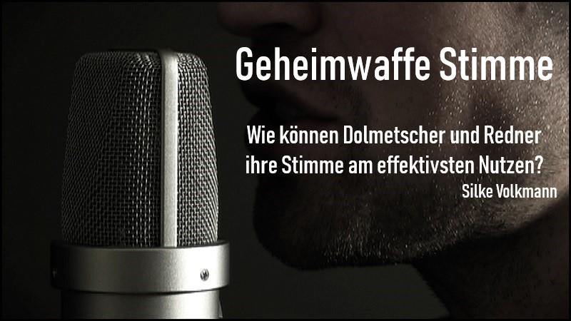 Stimmtraining Silke Volkmann