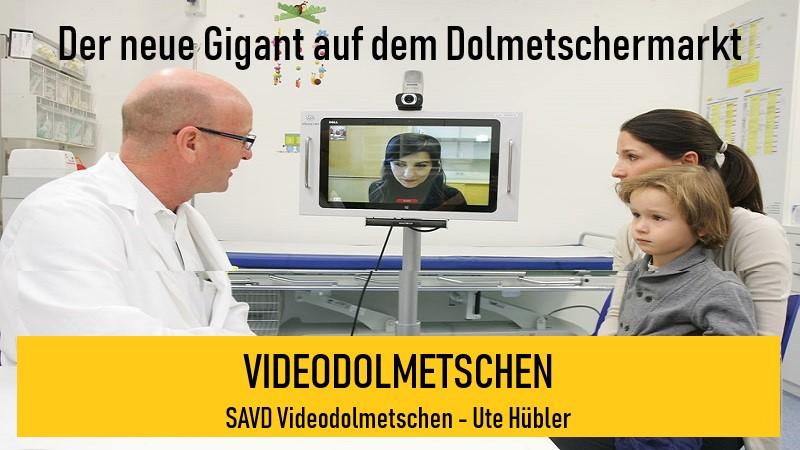 SAVD Videodolmetschen - Ute Hübler