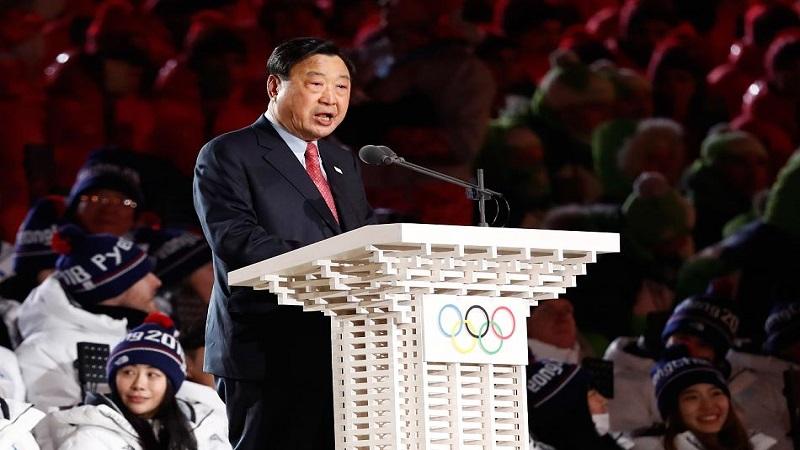 OK-Chef Lee Hee-Beom Eröffnungsfeier Olympische Winterspiele 2018