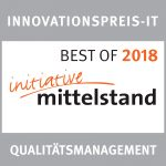 Innovationspreis-IT für Qualitätsmanagement 2018